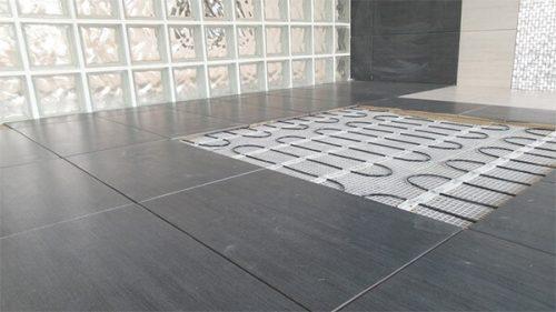 Az elektromos padlófűtés