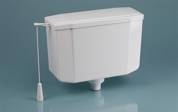 WC öblítőtartályok fajtái